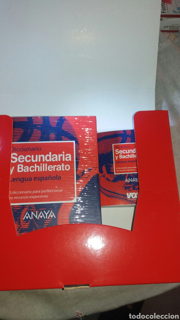 Diccionarios de segunda mano: DICCIONARIO SECUNDARIA Y BACHILLERATO LENGUA ESPAÑOLA - Foto 2 - 105076487