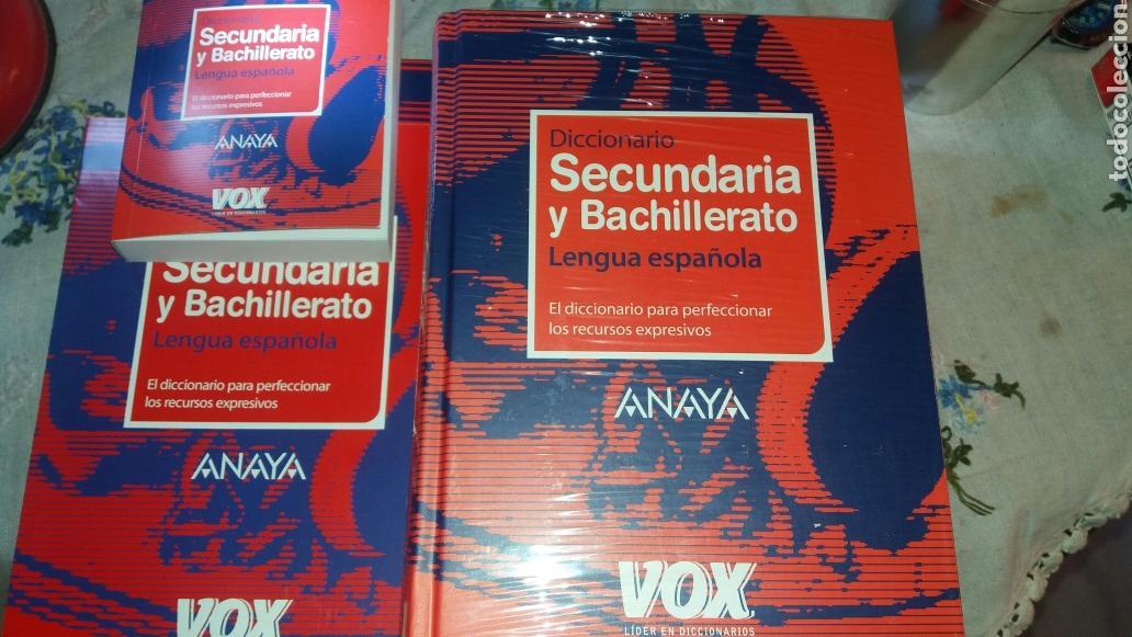 Diccionarios de segunda mano: DICCIONARIO SECUNDARIA Y BACHILLERATO LENGUA ESPAÑOLA - Foto 4 - 105076487