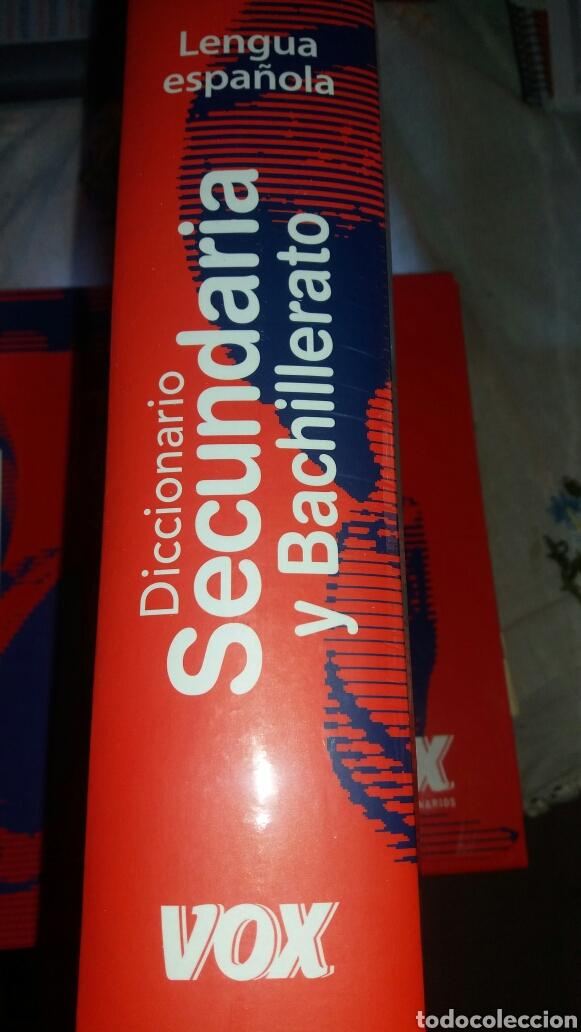 Diccionarios de segunda mano: DICCIONARIO SECUNDARIA Y BACHILLERATO LENGUA ESPAÑOLA - Foto 5 - 105076487