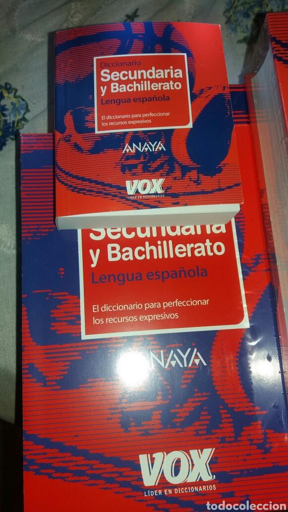 Diccionarios de segunda mano: DICCIONARIO SECUNDARIA Y BACHILLERATO LENGUA ESPAÑOLA - Foto 7 - 105076487