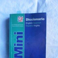 Diccionarios de segunda mano: MINI DICCIONARIO VOX ESPAÑOL-INGLES. Lote 105084367
