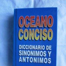 Diccionarios de segunda mano: DICCIONARIO SINONIMOS Y ANTONIMOS. Lote 105084455