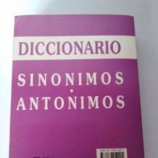 Diccionarios de segunda mano: DICCIONARIO SINÓNIMOS, ANTÓNIMOS. Lote 106100250