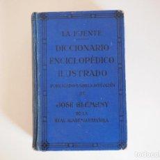 Diccionarios de segunda mano: DICCIONARIO ENCICLOPÉDICO ILUSTRADO. JOSÉ ALEMANY. AÑOS 50. Lote 107359871