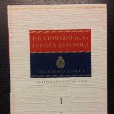 Diccionarios de segunda mano: DICCIONARIO DE LA REAL ACADEMIA ESPAÑOLA, VIGESIMA SEGUNDA EDICION. Lote 108903291