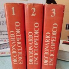 Diccionarios de segunda mano - Diccionario Enciclopédico Océano. Obra completa en 3 tomos-1989 - 109129424