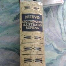 Diccionarios de segunda mano: NUEVO DICCIONARIO ILUSTRADO SOPENA. Lote 135672222