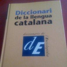Diccionarios de segunda mano: DICCIONARI DE LA LLENGUA CATALANA. TOMO 1. Lote 110082759