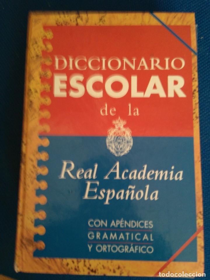 DICCIONARIO ESCOLAR DE LA REAL ACADEMIA ESPAÑOL. EDITORIAL ESPASA- 2ª EDICION 1.997 (Libros de Segunda Mano - Diccionarios)