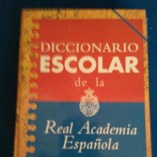 Diccionarios de segunda mano: DICCIONARIO ESCOLAR DE LA REAL ACADEMIA ESPAÑOL. EDITORIAL ESPASA- 2ª EDICION 1.997. Lote 111105767