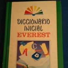 Diccionarios de segunda mano: DICCIONARIO INICIAL EVEREST. 3ª EDICCION 1.995. Lote 111105919