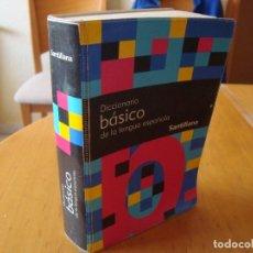 Diccionarios de segunda mano: DICCIONARIO BASICO DE LA LENGUA ESPAÑOLA 1995 SANTILLANA . Lote 113017855