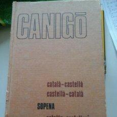 Diccionarios de segunda mano: DICCIONARIO CATALÁN-CASTELLANO CASTELLANO-CATALÁN. Lote 57834310