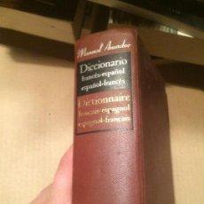 Diccionarios de segunda mano: ANTIGUO DICCIONARIO FRANCÉS - ESPAÑOL EDITORIAL RAMON SOPENA AÑO 1964. Lote 113214939