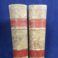 Diccionarios de segunda mano: DICCIONARIO GEOGRÁFICO POSTAL DE ESPAÑA DOS VOLUMENES 16 DE ENERO DE 1942 25X18,5CMS. Lote 114301483