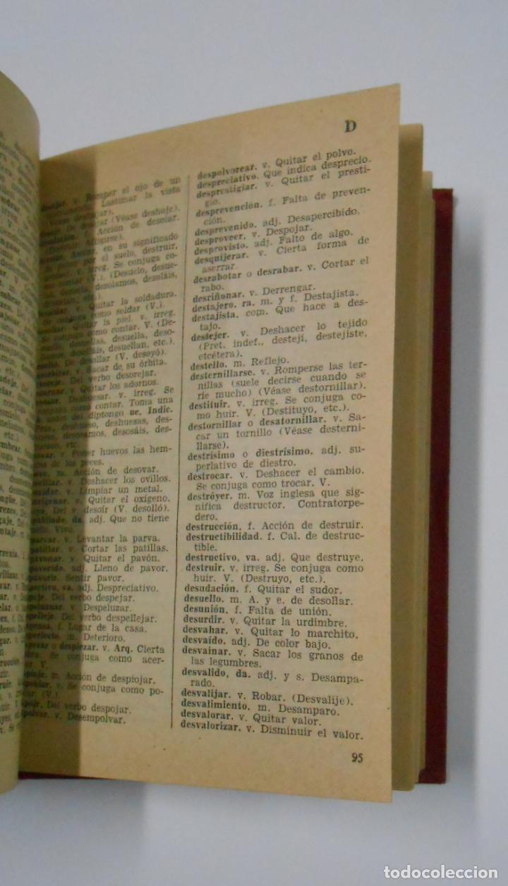 Diccionarios de segunda mano: DICCIONARIO ORTOGRAFICO Y NORMAS GRAMATICALES. RICARDO ANGULO GARCIA. MADRID. TDK193 - Foto 3 - 114372303