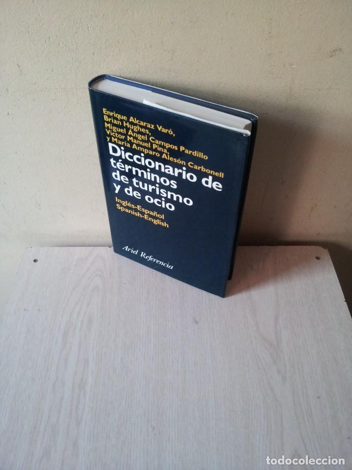 DICCIONARIO DE TERMINOS DE TURISMO Y DE OCIO - INGLÉS-ESPAÑOL/ESPAÑOL-INGLÉS - VARIOS AUTORES 2000 (Libros de Segunda Mano - Diccionarios)