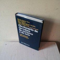 Diccionarios de segunda mano: DICCIONARIO DE TERMINOS DE TURISMO Y DE OCIO - INGLÉS-ESPAÑOL/ESPAÑOL-INGLÉS - VARIOS AUTORES 2000. Lote 115284543