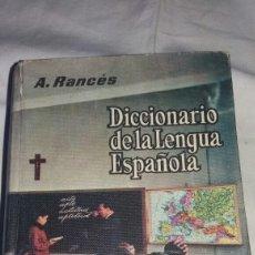 Diccionarios de segunda mano: ANTIGUO DICCIONARIO DE LA LENGUA ESPAÑOLA. Lote 115304807
