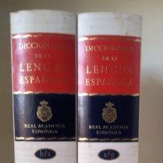 Diccionarios de segunda mano: DICCIONARIO DE LA LENGUA ESPAÑOLA. 2 TOMOS. VIGÉSIMA SEGUNDA EDICIÓN. ED. ESPASA, 2001. Lote 115362423