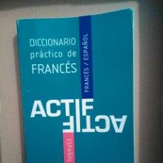 Diccionarios de segunda mano: DICCIONARIO PRÁCTICO DE FRANCÉS. Lote 116377710