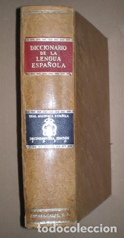 DICCIONARIO DE LA LENGUA ESPAÑOLA. REAL ACADEMIA ESPAÑOLA. DECIMONOVENA EDICIÓN.1970 (Libros de Segunda Mano - Diccionarios)