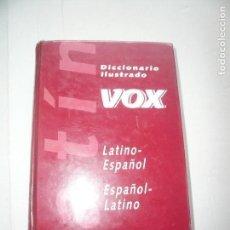 Diccionarios de segunda mano: DICCIONARIO ILUSTRADO VOX LATINO-ESPAÑOL. Lote 117023063