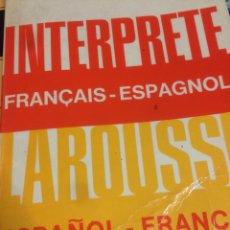 Diccionarios de segunda mano - Diccionario Larousse intérprete Español -francés / français -espagnol - 117072354