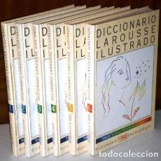 Diccionarios de segunda mano: DICCIONARIO ILUSTRADO 6T POR EDICIONES LAROUSSE, EDICIÓN DE EL PERIÓDICO EN BARCELONA 1998. Lote 117376543