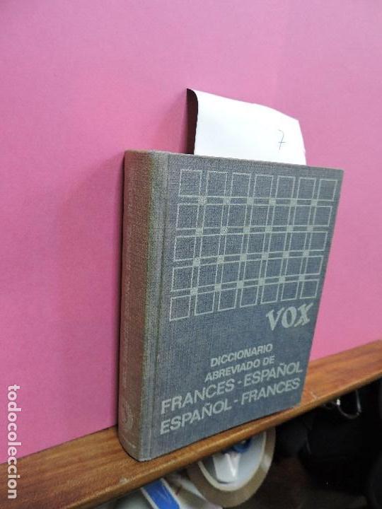 DICCIONARIO VOX ABREVIADO DE FRANCÉS-ESPAÑOL ESPAÑOL-FRANCÉS. ED. BIBLOGRAF. BARCELONA 1964. 2ª EDIC (Libros de Segunda Mano - Diccionarios)
