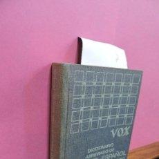 Diccionarios de segunda mano: DICCIONARIO VOX ABREVIADO DE FRANCÉS-ESPAÑOL ESPAÑOL-FRANCÉS. ED. BIBLOGRAF. BARCELONA 1964. 2ª EDIC. Lote 118447363
