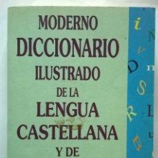 Diccionarios de segunda mano: 365-MODERNO DICCIONARIO ILUSTRADO DE LA LENGUA CASTELLANA-SALGADO DAPIA, JOSE LUIS, EDICOMUNICACION. Lote 56534411