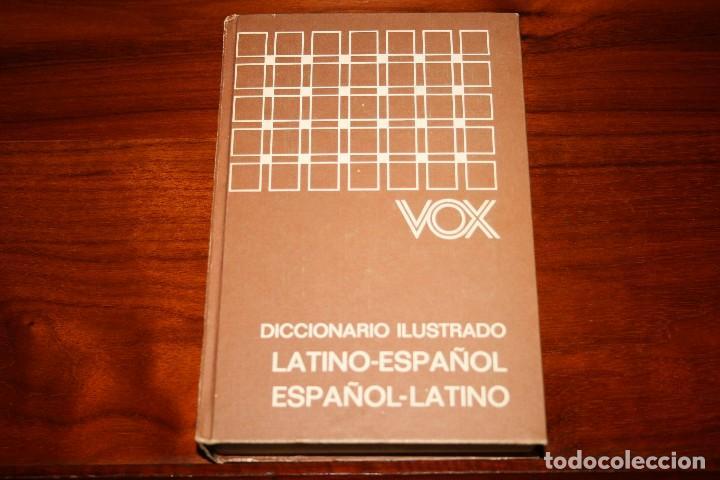 DICCIONARIO ILUSTRADO VOX. LATINO ESPAÑOL. BIBLIOGRAF. (Libros de Segunda Mano - Diccionarios)