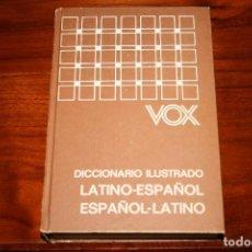Diccionarios de segunda mano: DICCIONARIO ILUSTRADO VOX. LATINO ESPAÑOL. BIBLIOGRAF.. Lote 118854887