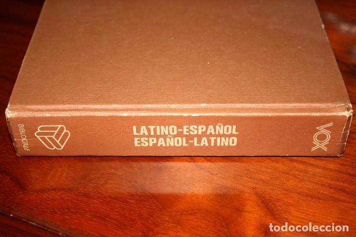 Diccionarios de segunda mano: Diccionario Ilustrado Vox. Latino Español. Bibliograf. - Foto 3 - 118854887