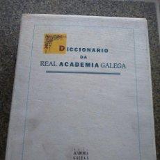 Diccionarios de segunda mano: DICCIONARIO DA REAL ACADEMIA GALEGA -- 1ª EDICION 1997 --. Lote 119208955