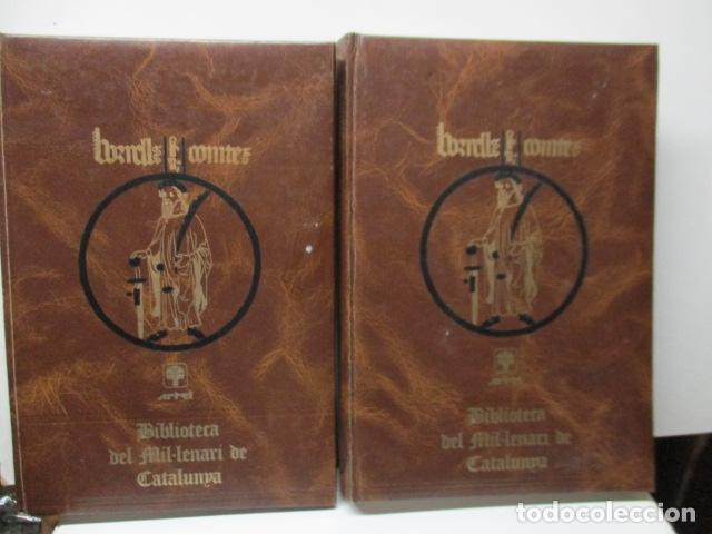 BIBLIOTECA DEL MIL.LENARI DE CATALUNYA 2 TOMOS - DICCIONARI GENERAL CATALA - MIGUEL ARIMANY (Libros de Segunda Mano - Diccionarios)