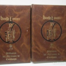 Diccionarios de segunda mano: BIBLIOTECA DEL MIL.LENARI DE CATALUNYA 2 TOMOS - DICCIONARI GENERAL CATALA - MIGUEL ARIMANY. Lote 119497275