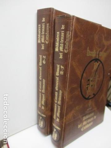 Diccionarios de segunda mano: BIBLIOTECA DEL MIL.LENARI DE CATALUNYA 2 TOMOS - DICCIONARI GENERAL CATALA - MIGUEL ARIMANY - Foto 3 - 119497275