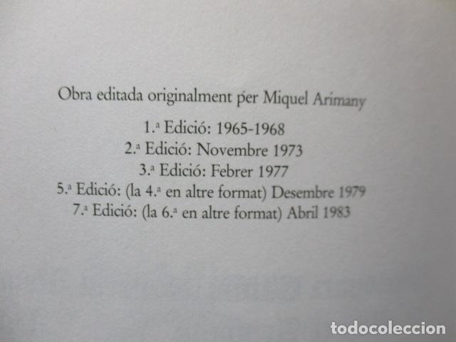 Diccionarios de segunda mano: BIBLIOTECA DEL MIL.LENARI DE CATALUNYA 2 TOMOS - DICCIONARI GENERAL CATALA - MIGUEL ARIMANY - Foto 12 - 119497275
