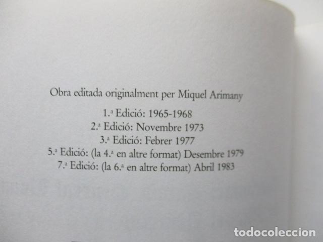 Diccionarios de segunda mano: BIBLIOTECA DEL MIL.LENARI DE CATALUNYA 2 TOMOS - DICCIONARI GENERAL CATALA - MIGUEL ARIMANY - Foto 25 - 119497275