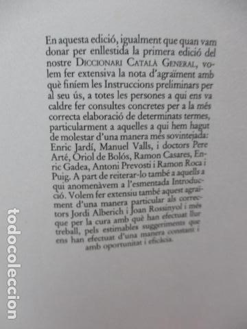 Diccionarios de segunda mano: BIBLIOTECA DEL MIL.LENARI DE CATALUNYA 2 TOMOS - DICCIONARI GENERAL CATALA - MIGUEL ARIMANY - Foto 30 - 119497275