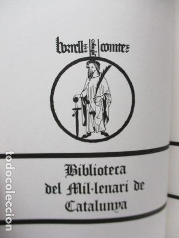 Diccionarios de segunda mano: BIBLIOTECA DEL MIL.LENARI DE CATALUNYA - GRAMATICA (en Catalan) - Foto 6 - 119497515
