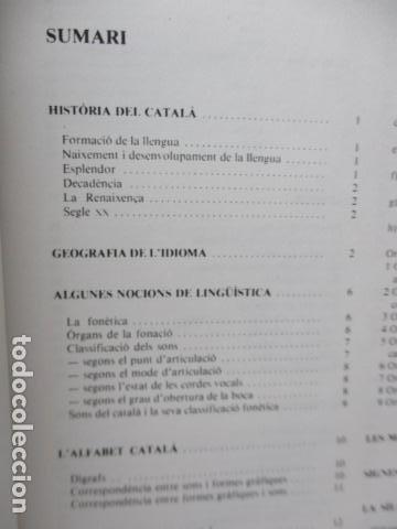 Diccionarios de segunda mano: BIBLIOTECA DEL MIL.LENARI DE CATALUNYA - GRAMATICA (en Catalan) - Foto 9 - 119497515
