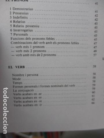 Diccionarios de segunda mano: BIBLIOTECA DEL MIL.LENARI DE CATALUNYA - GRAMATICA (en Catalan) - Foto 15 - 119497515