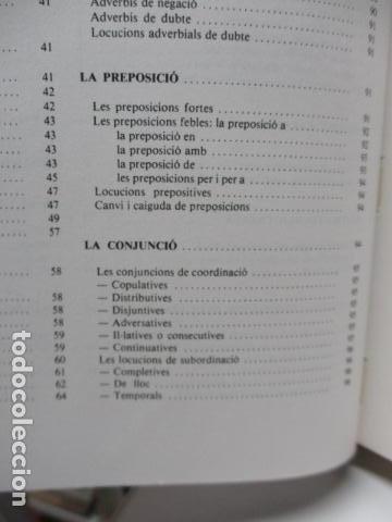 Diccionarios de segunda mano: BIBLIOTECA DEL MIL.LENARI DE CATALUNYA - GRAMATICA (en Catalan) - Foto 18 - 119497515