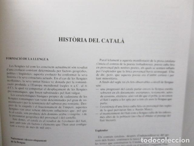 Diccionarios de segunda mano: BIBLIOTECA DEL MIL.LENARI DE CATALUNYA - GRAMATICA (en Catalan) - Foto 21 - 119497515
