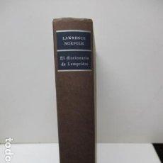 Diccionarios de segunda mano: LAWRENCE NORFOLK - EL DICCIONARIO DE LEMRIERE. Lote 120078811