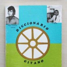 Diccionarios de segunda mano: DICCIONARIO GITANO CALO-ESPAÑOL ESPAÑOL-CALO - MORENO CASTRO, P. - CARRILLO REYES, J. (FIRMADO). Lote 120185058