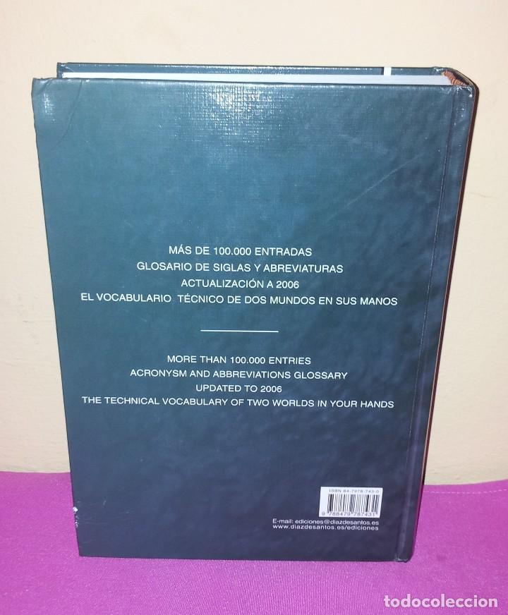 Diccionarios de segunda mano: DICCIONARIO TECNICO - FEDERICO BEIGBEDER - 2ª EDICION - EDICIONES DIAZ DE SANTOS 2006 - Foto 2 - 120845711